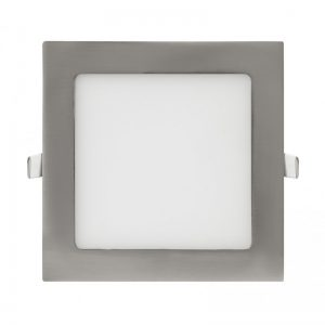 Downlight panel LED Square Niquel 12W