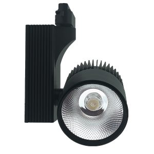 Foco LED para carril Navi Negro 30W Monofásico