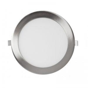 Downlight panel LED Circular Niquel 12W